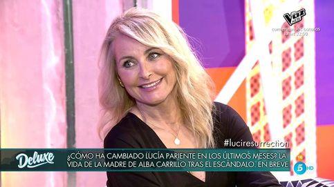 Lucía Pariente regresa a 'Sábado Deluxe' con un dardo para Fonsi Nieto