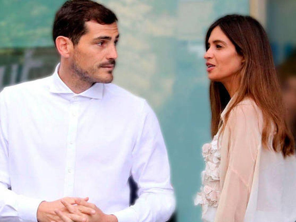 Foto:  Iker Casillas, Sara Carbonero y los rumores que no cesan. (EFE)