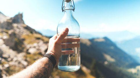 Las botellas de agua de cristal que necesitas para beber sano en tu día a día