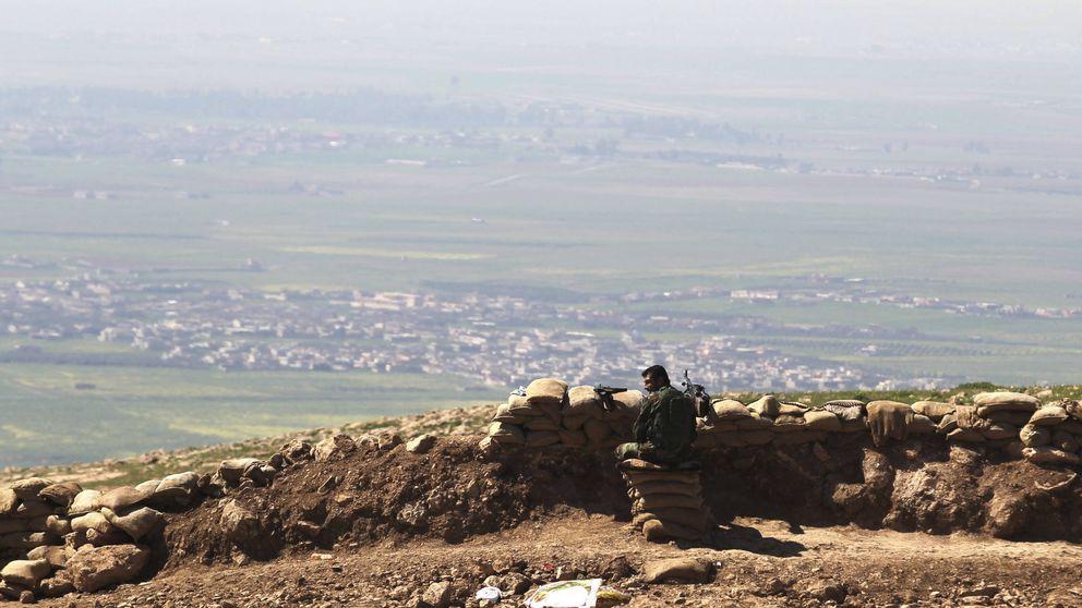 Viaje al frente de Mosul: a 15 kilómetros de la 'capital' del Estado Islámico