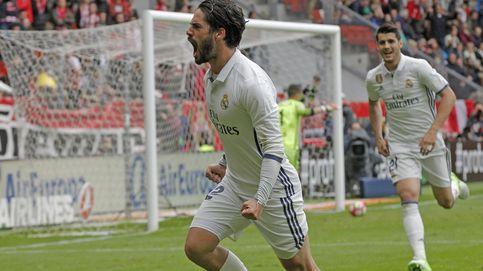 Isco sigue haciendo en el campo todo lo posible para quedarse en el Real Madrid