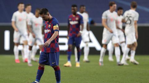 El Barcelona se queda desnudo y sin rumbo: esto ya no puede arreglarlo Messi