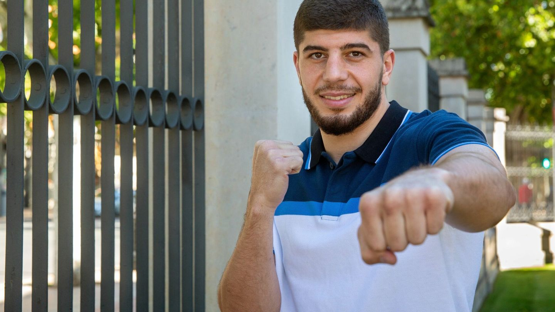 El boxeador Gazi Jalidov. (EFE)