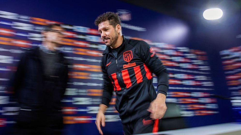 Foto: El entrenador argentino del Atlético de Madrid Diego Pablo Simeone. (EFE)