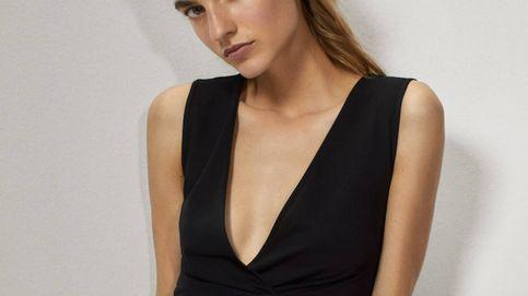 Massimo Dutti y el vestido negro que busca tu armario (y hace tipazo)