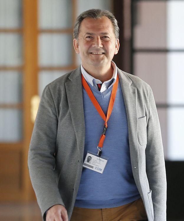 Foto: Gonzalo Rodríguez Nevado, en una comparecencia en el Parlamento andaluz. (EFE)