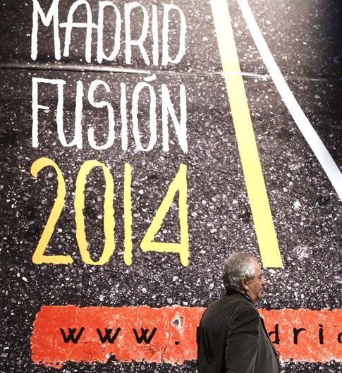 Cartel de Madrid Fusión (EFE)