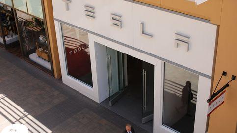 Una de las primeras tiendas de  Tesla