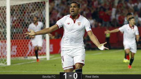 El Sevilla se lleva el derbi, pero Poyet consigue que no se hable del partido
