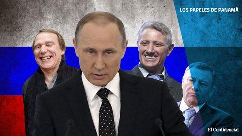Todos los hombres de Putin: la red de dinero 'offshore' conectada al líder ruso