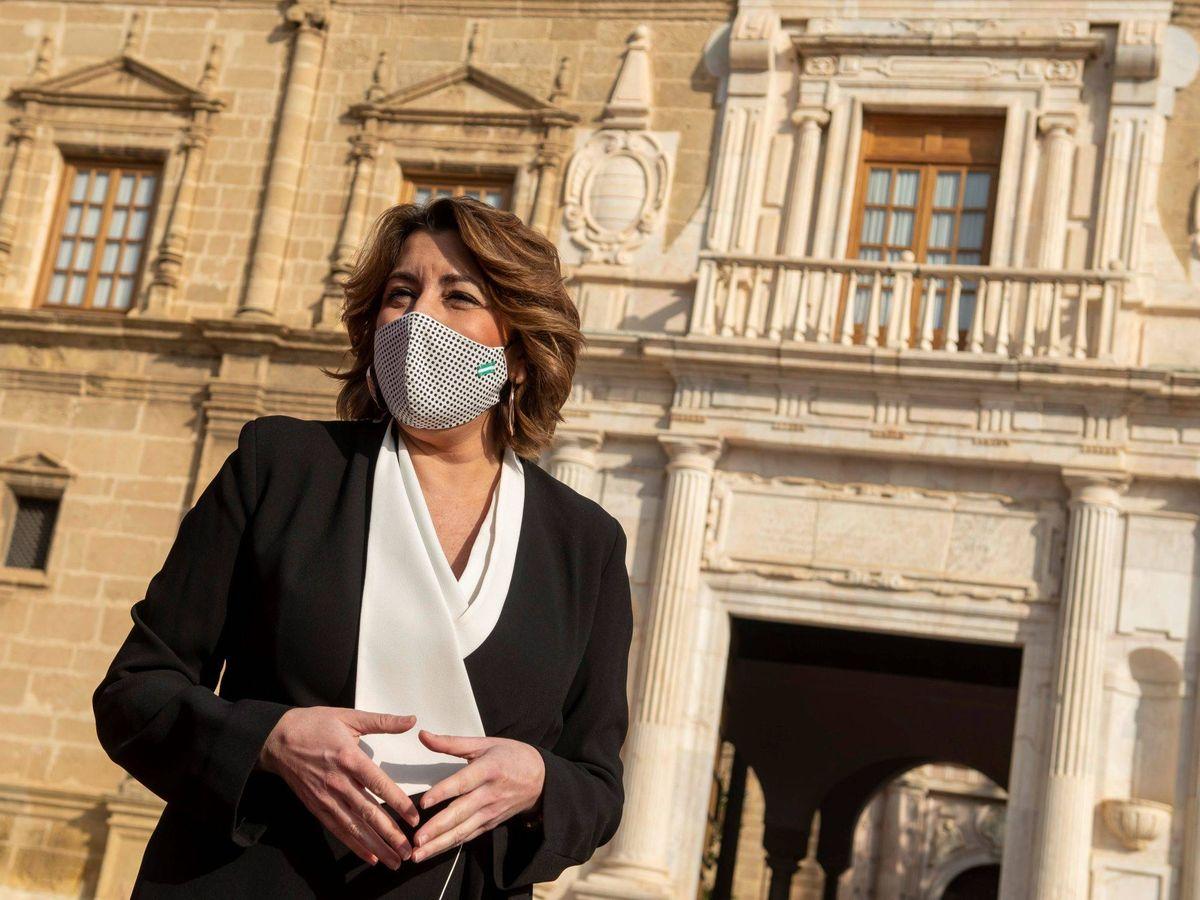 Foto: La expresidenta andaluza, Susana Díaz. (EFE)