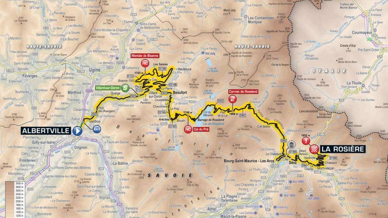 Recorrido de la undécima etapa | Tour de Francia 2018