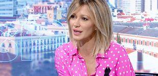 Post de Susanna Griso antes y después del regreso de los estilistas a la televisión