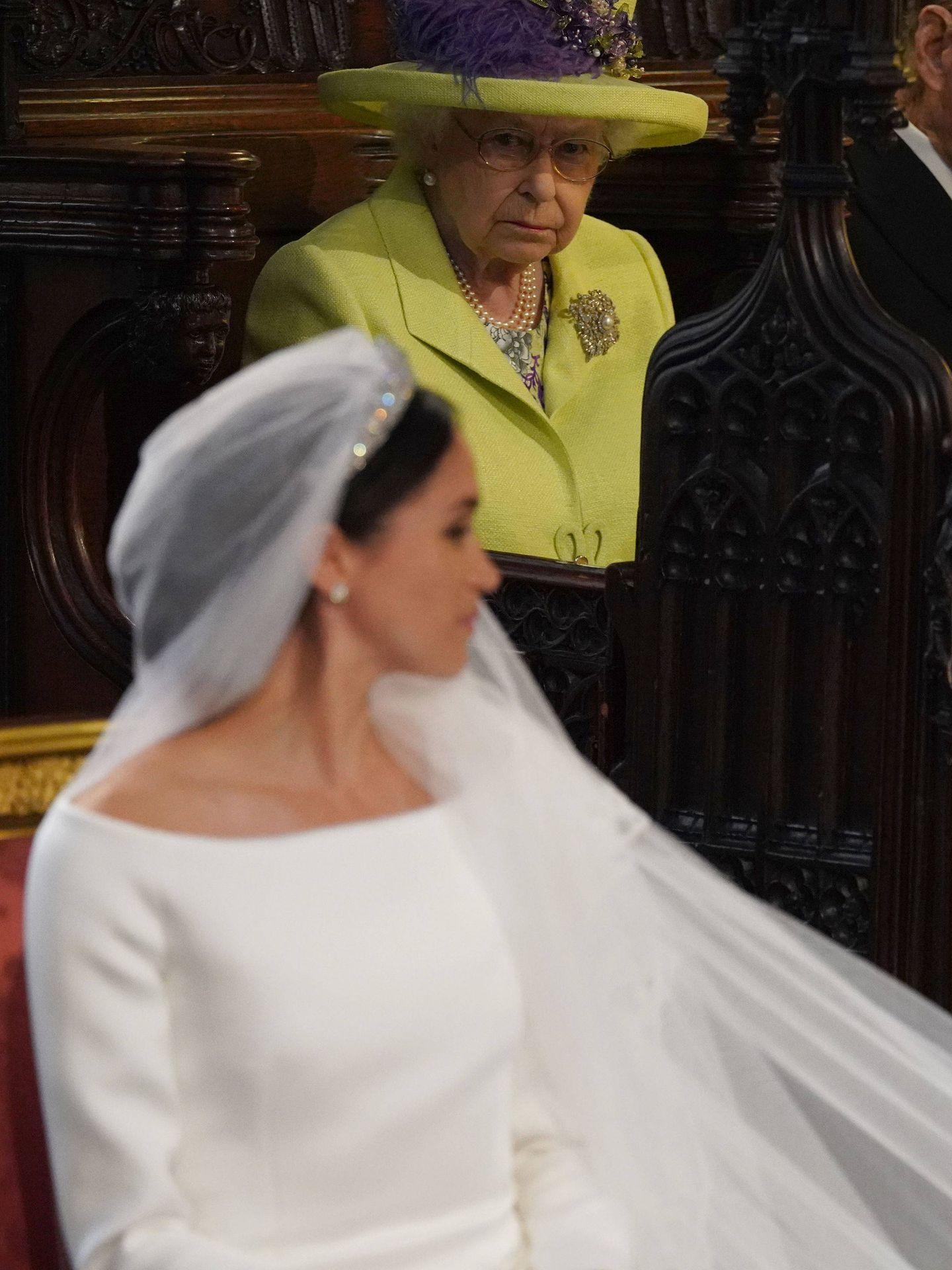 La reina Isabel, vigilante. (Gtres)