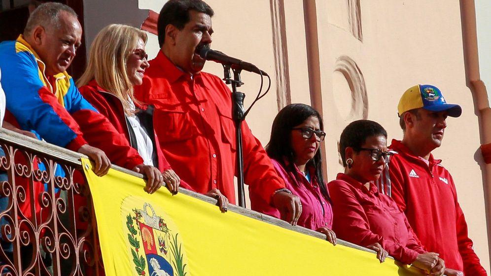 Foto: Maduro dice que la Justicia debe actuar tras la autoproclamación de Guaidó. (EFE)