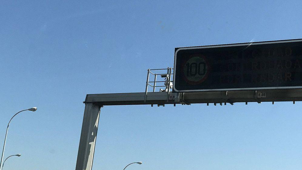 Foto: La mayor parte de las cámaras de control del cinturón de seguridad están instaladas ne los pórticos de carretera.