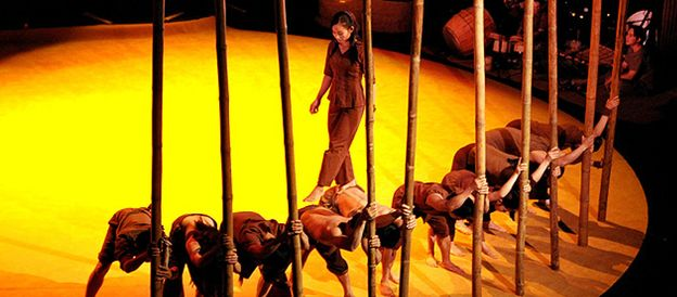 Foto: 'Lang Toi', renovar el circo a golpe de bambú