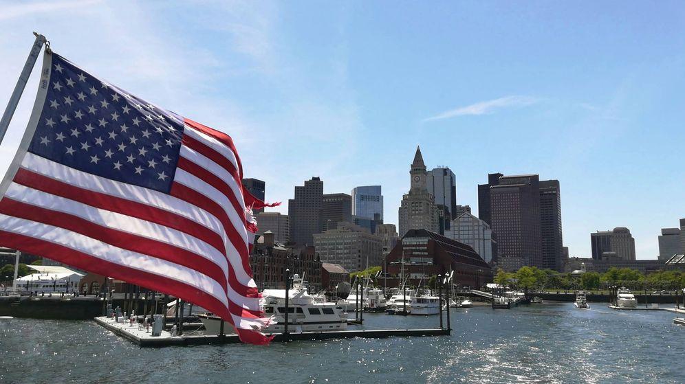 Foto: Vista general del puerto de Boston.