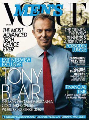 Blair pasa por el Photoshop