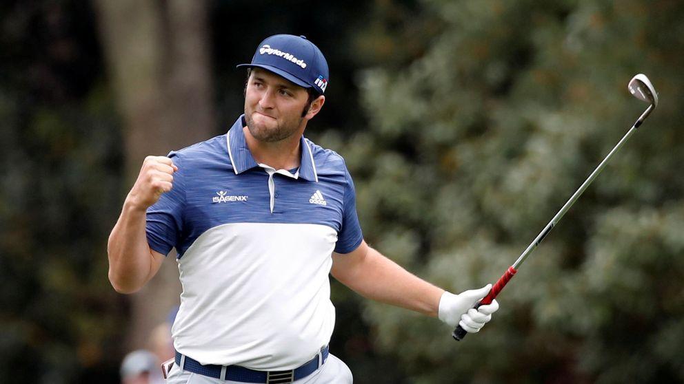 Jon Rahm se da la oportunidad de sentirse bien en un grande como Augusta