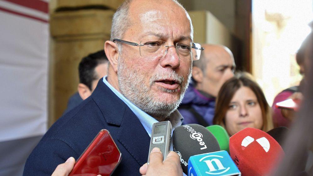 Foto: El vicepresidente de la Junta de Castilla y León, Francisco Igea. (EFE)