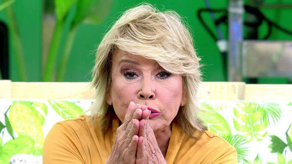 Foto: Mila Ximénez ataca a Chelo García Cortés por decir que su concurso le estaba pareciendo una mierda. (Mediaset España)