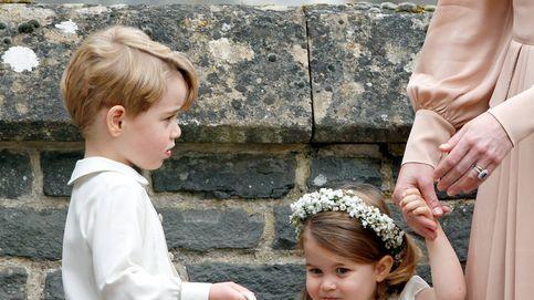 George y Charlotte de Cambridge, pajes en la boda del príncipe Harry y Meghan Markle