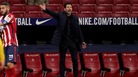 El Atlético de Simeone, partido a partido, pero favorito