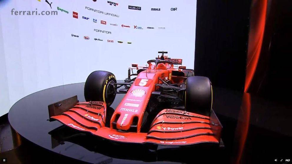 Así es el SF1000, el nuevo coche de Ferrari de Fórmula 1 para la temporada 2020