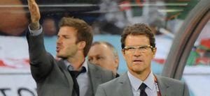 """Fabio Capello afirma: """"David Beckham es demasiado viejo para volver a jugar con Inglaterra"""""""