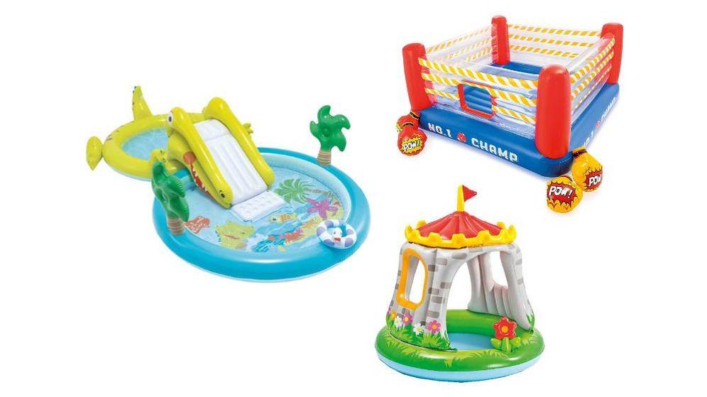 Foto: Los castillos hinchables para niños con más juegos y horas de diversión