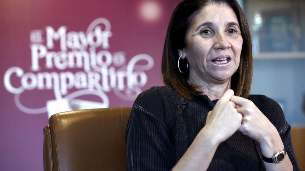 Foto: La presidenta de la SELAE, Inmaculada García Martínez (EFE)
