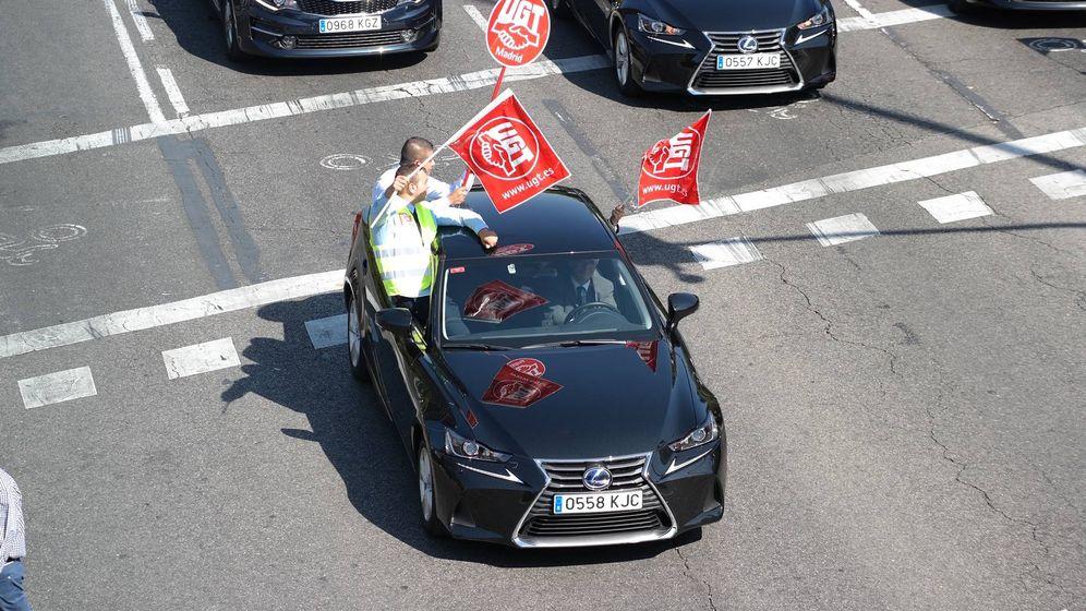 Foto: Uno de los coches participantes en la marcha VTC. (M.MC)