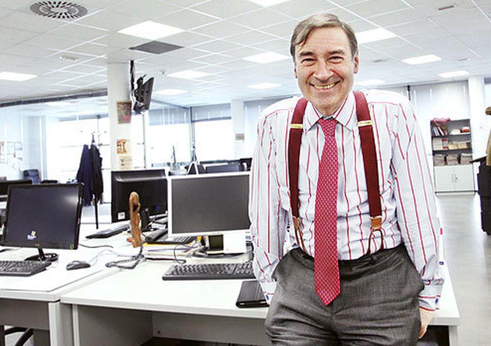 Foto: El director de 'El Mundo' Pedro J. Ramírez. (E. Villarino)