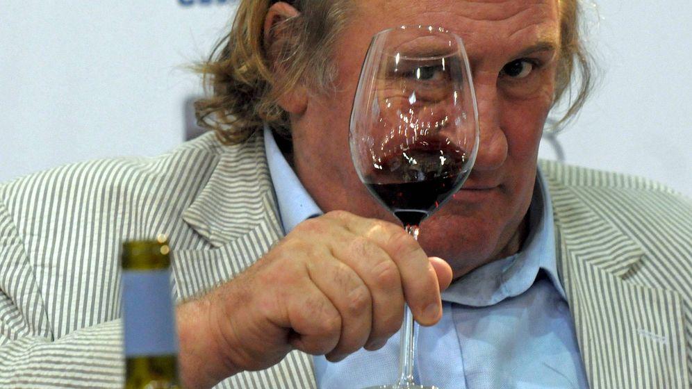 Foto: El actor Gerard Depardieu, un gran amante del vino francés