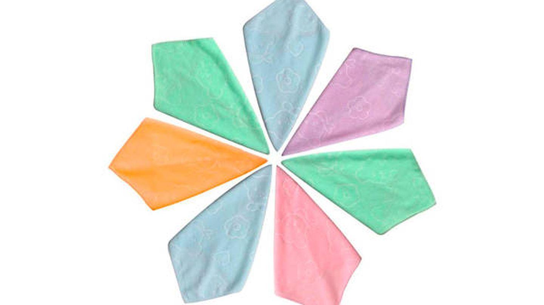 25 toallitas secas para bebé de microfibra Omenluck