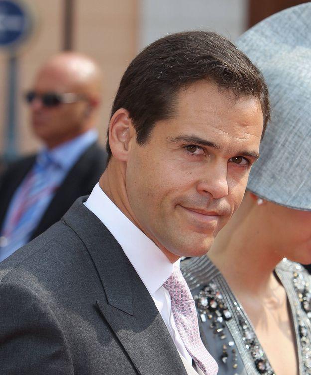 Foto: Luis Alfonso de Borbón, en la boda del príncipe Alberto de Mónaco. (Getty)