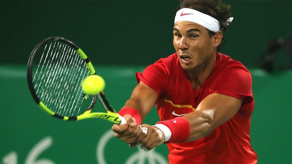 Nadal, el único tenista español que gana en Río