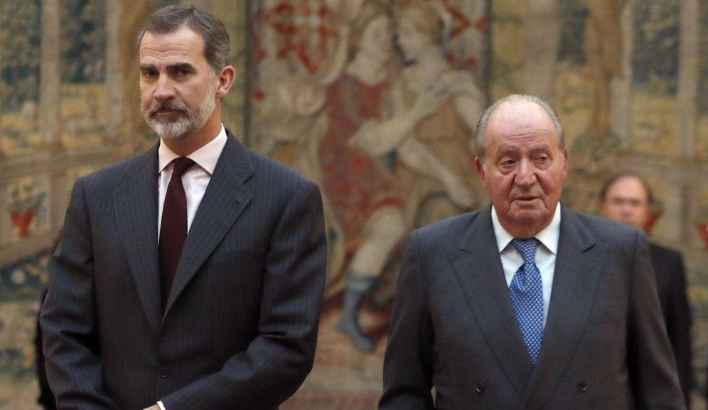 Foto: Felipe VI y el rey Juan Carlos, en una imagen de archivo. (EFE)