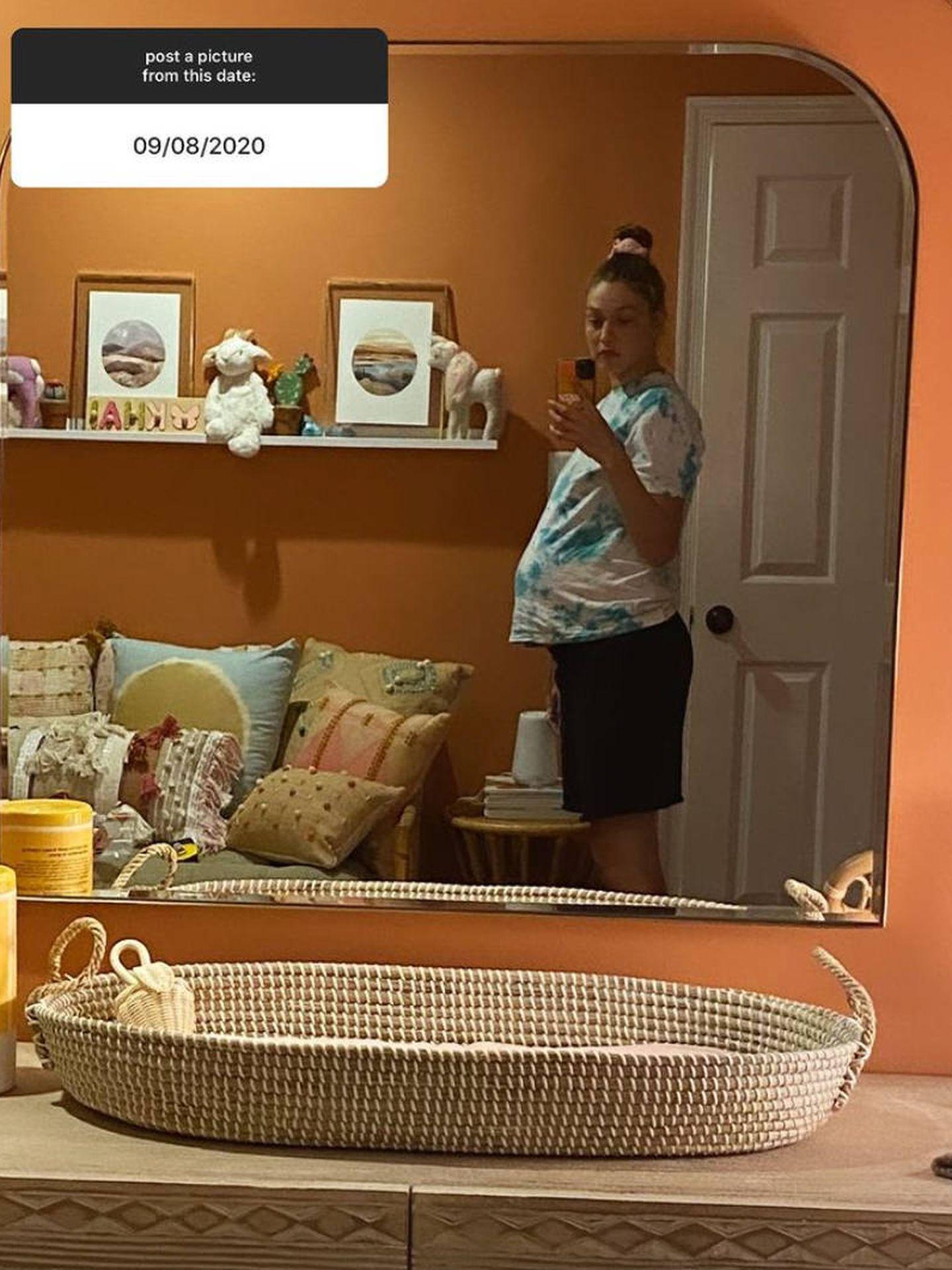La habitación del bebé de Gigi. (IG @gigihadid)