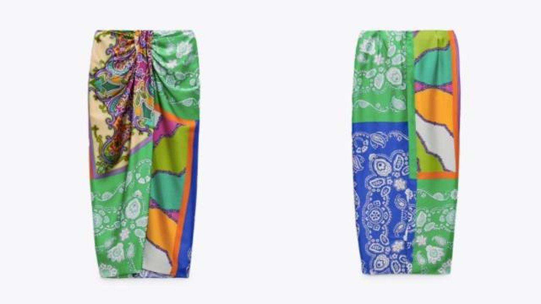 La falda de Zara. (Cortesía)