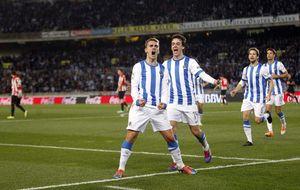 La Real se lleva el derbi y el fútbol vasco vive su mejor momento en años