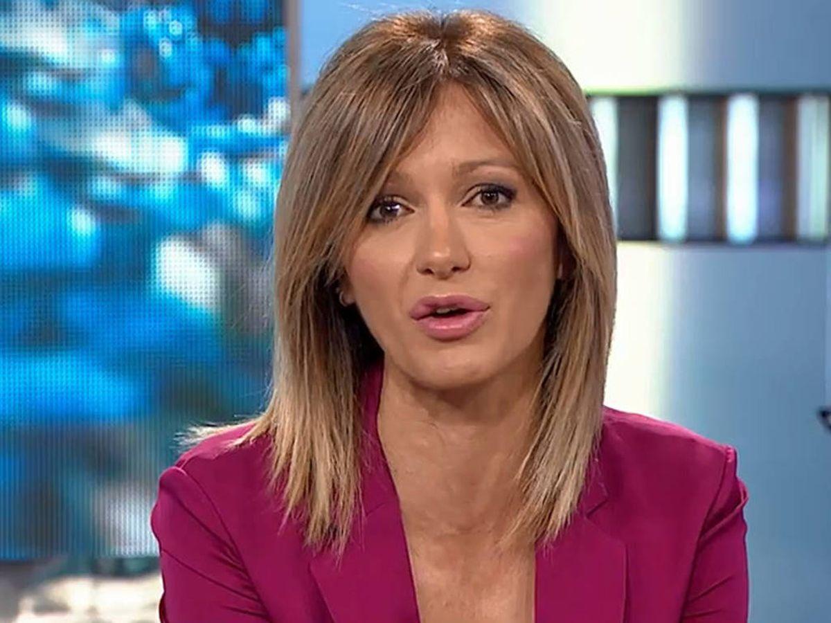 Foto: Susanna Griso y sus secretos de maquillaje televisivo. (Atresmedia)