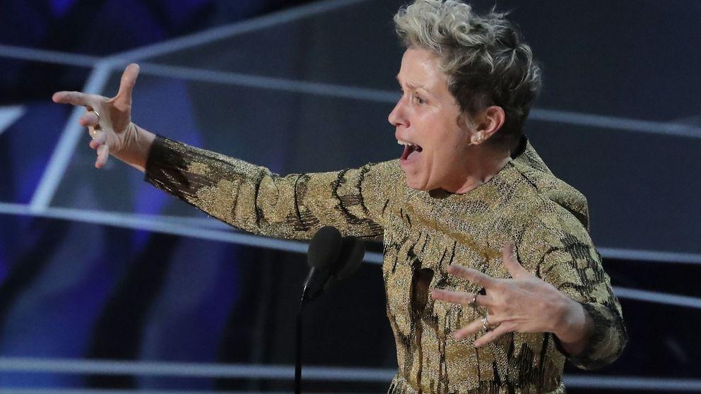 El discurso de Frances McDormand que se llevó la ovación de las mujeres en los Oscar