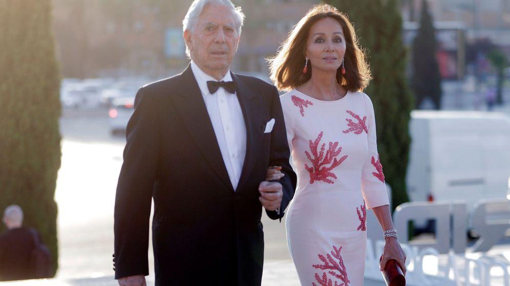 Foto: Vargas Llosa y Preysler en una imagen de archivo. (EFE)