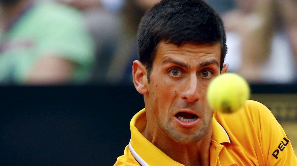 Foto: Djokovic no dio opciones a un gran Ferrer en Roma.