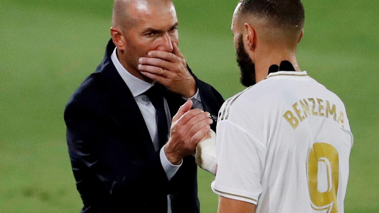 Zidane-Benzema, una relación que va más allá de la de un jefe con un empleado