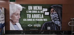 Post de Aval legal al cartel de Vox sobre los menores: