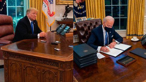 Joe Biden elimina el botón de la Coca Cola light del despacho oval