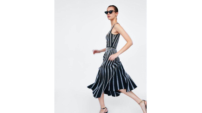 Vestido de Zara de Sassa de Osma. (Cortesía)